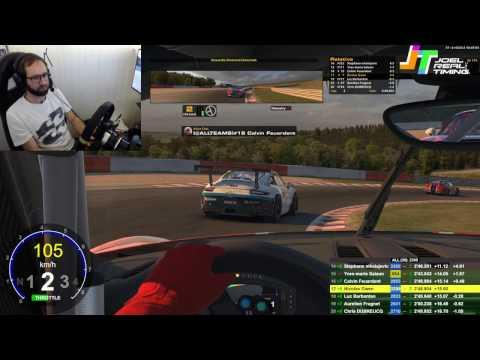 Porsche sur Spa : remontée fantastique avec Calvin ! Course 2 #RedfaceRacingAndFriends