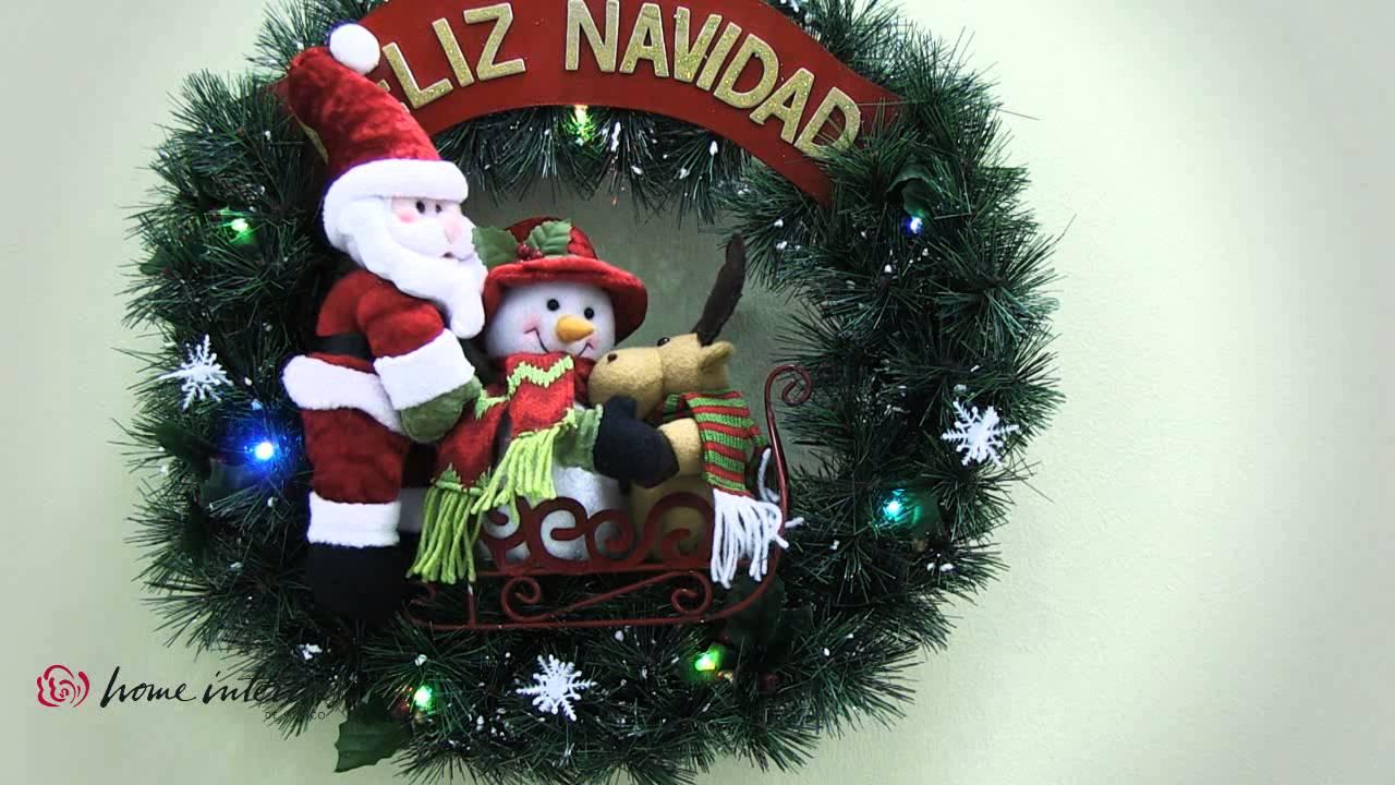 Corona santa y sus amigos navidad alrededor del mundo - Coronas de navidad ...