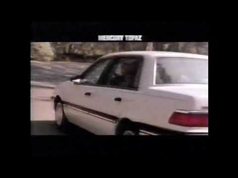 1989 Mercury Topaz Commercial