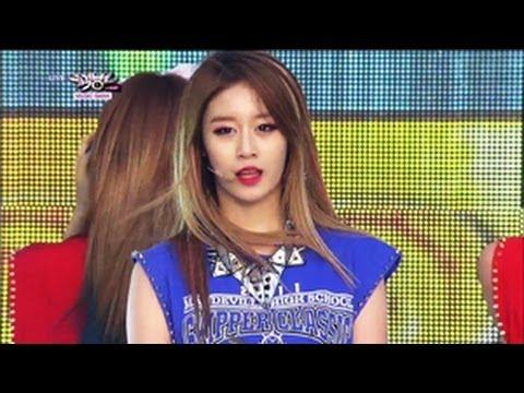 Music Bank K-Chart - T-ARA N4 - Jeon Won Diary (2013.05.25) [Music Bank w/ Eng Lyrics]