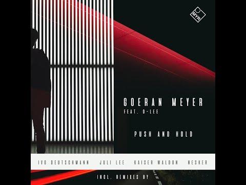 Premiere: Goeran Meyer feat. D-Lee - Three Days (Ivo Deutschmann Remix)