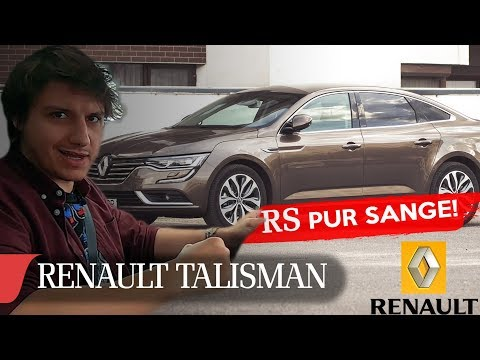 2019 RENAULT TALISMAN RS PUR SANGE | eblogAUTO car review