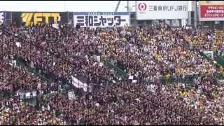 2013年6月9日 阪神タイガース vs 千葉ロッテマリーンズ 4回戦 3回表に演...