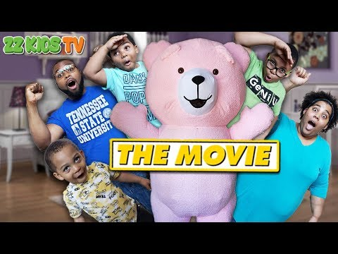 Teddy Dudez The Movie! (We Want Our Family House Back) ZZ Kids TV Compilation