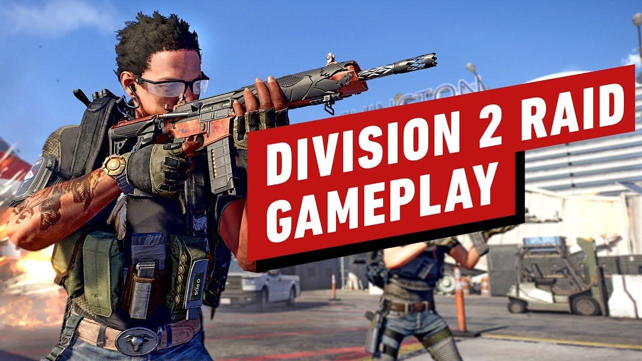 14 Minuten von Division 2: Operation Dark Hours Raid Gameplay + video