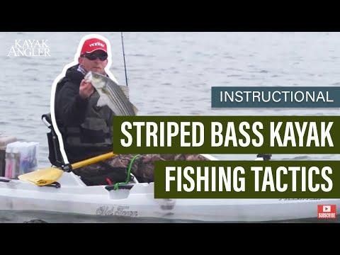 Striped Bass Kayak Fishing Tactics | Fishing Tactics | Instructional