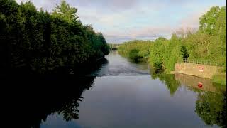 Timelapse (short) Elora Ontario along the historic Grand River