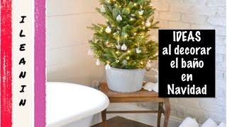 Como Decorar el Baño en Navidad  +20 Ideas / Christmas Bathroom Decoration Ideas