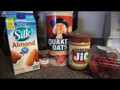 How I make OVERNIGHT OATS! (EASY) | Healthy Gains