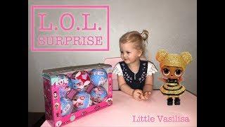 Розпакування ляльок L. O. L. Surprise (аналог)