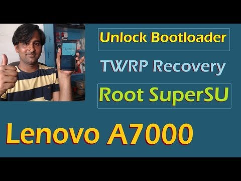 How to Root and Install TWRP Recovery in Lenovo A7000 (Magisk and SuperSU)