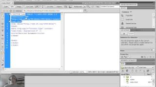 Dreamweaver - setting up index.html