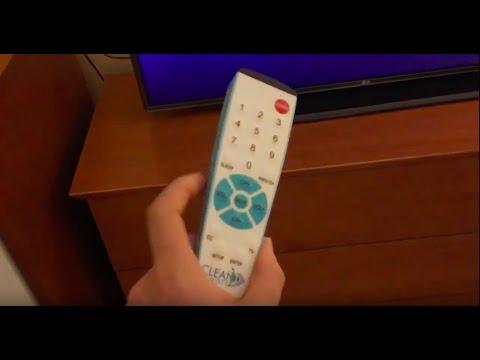 Clean remote TV input change