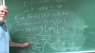 Domain of Composite Functions