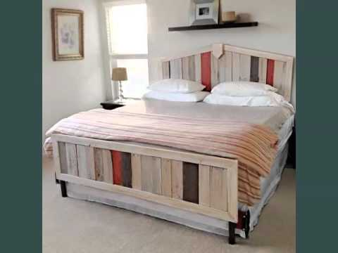 Set Of Pallet Furniture Pics Ideas   Pallets Furniture Bed ... on Pallet Bed Room Ideas  id=86418