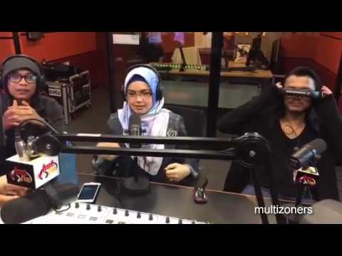 Siti Nurhaliza and Faizal Tahir @ HOTFM