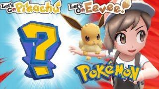 BRAND NEW GEN 8 POKEMON LEAKED! Pokemon Let's Go! *SPOILERS*