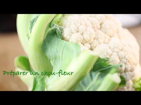 Preparer Un Chou Fleur Youtube