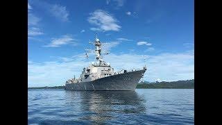 舰员喝醉爬进军舰炮塔 开炮直射司令家大院 司令却正在家开趴
