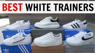 BEST WHITE TRAINERS/SNEAKERS For Men
