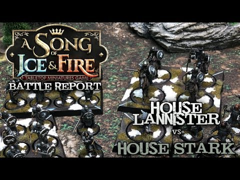 A Song of Ice and Fire Tabletop Game  Ep 01  House Lannister vs House Stark