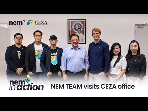 NEM in Action: NEM team visits Cagayan Economic Zone Authority (CEZA) office