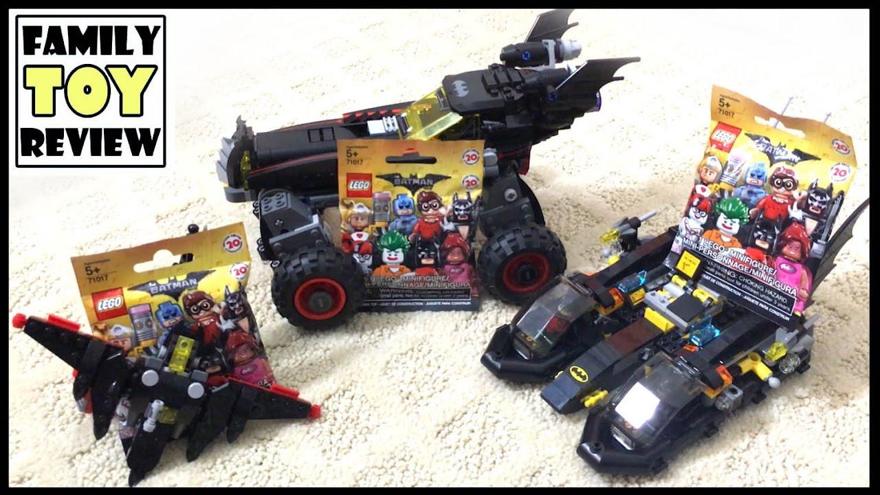 The Lego Batman Movie Toys Playtime Minifigure Blind 71017 Minifigures Series Box Of 60 Bag Batmobile Batboat Batwing