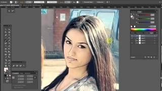 Создание иллюстрации с помощью планшета Intuos Pen&Touch small