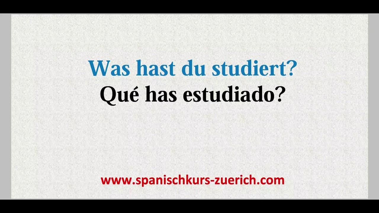 Du Spanisch
