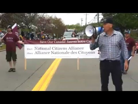 Far-right group banned after marching in Nova Scotia Apple Blossom Festival parade