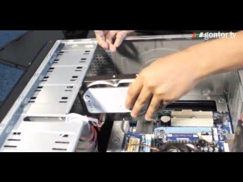 Belajar Komputer - Merakit CPU - Assembling Personal Computer - Tutorial merakit komputer