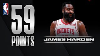 JAMES HARDEN DROPS 59 PTS!
