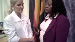 Kirsty Coventry in London 10 August. Team Zimbabwe Cheque Presentation 2012