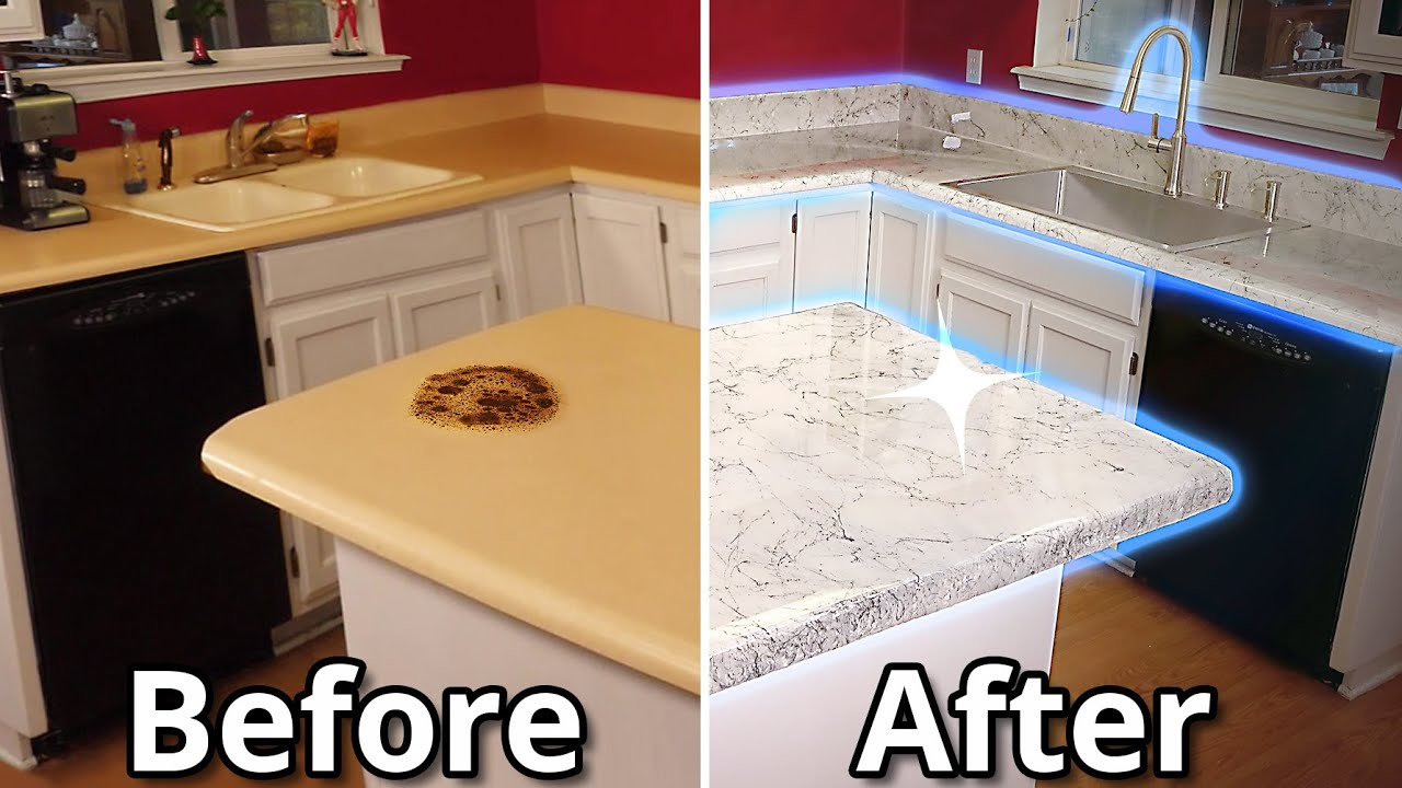 How To Install Epoxy Over Old Countertops Ultimate Guide | Stone Coat Countertops