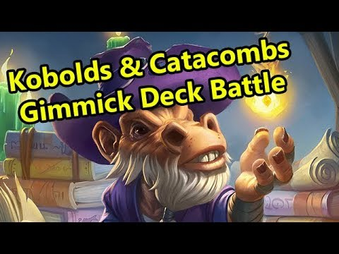 Hearthstone Kobold Gimmick Decks with Rob/Rurikar and Crendor