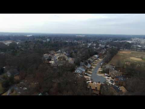 Drone over Severna Park