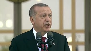 Turkish President Erdogan begins new term with expanded powers