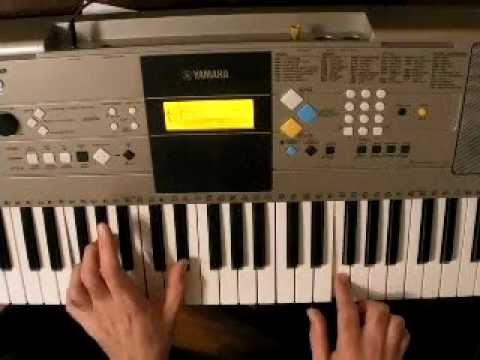 Beautiful - Christina Aguilera song - Piano Tutorial