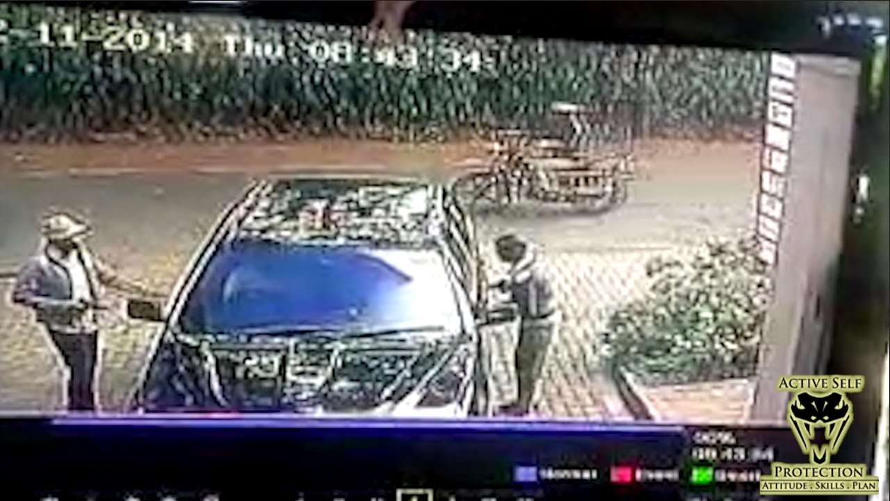 Car Helps Victims Escape Carjacking Attempt Active Self Protection
