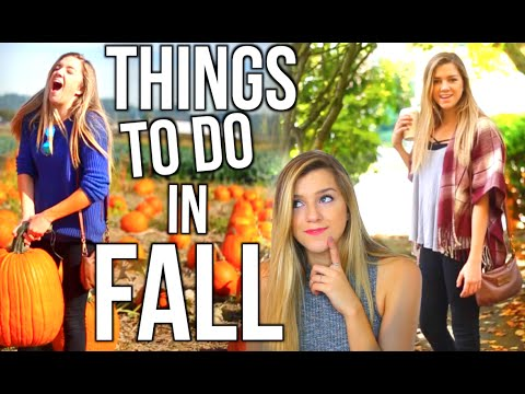 Things To Do When You're Bored In Fall!