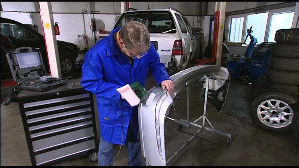 Remove Paint From Plastic Car Bumper