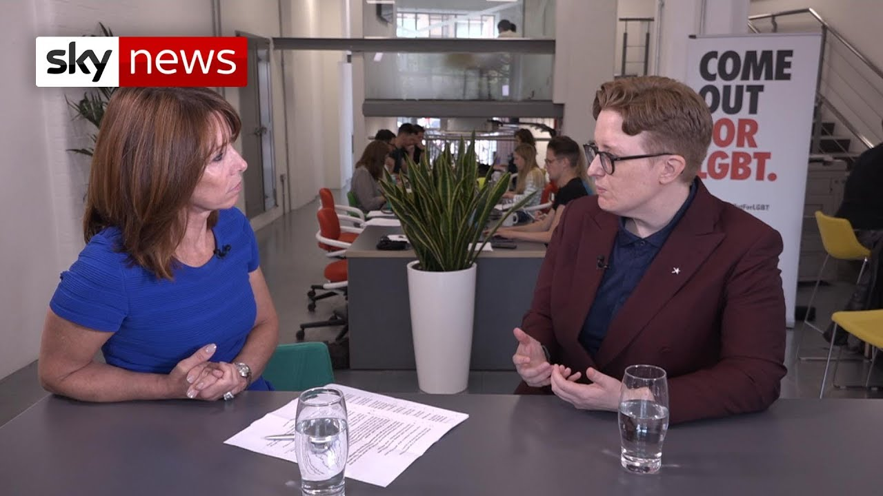 Kay meets LGBT activist Ruth Hunt