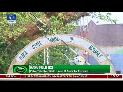 Police Take Over Kano State House Of Assembly