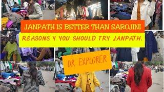 Janpath Market is better than sarojini nagar.    Cheap Street Shopping Guide  winter collection