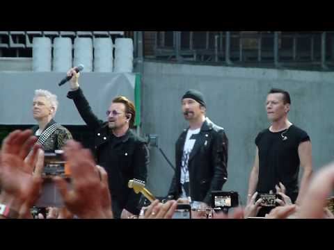 U2 - Where The Streets Have No Name/ I Still Haven't found/ With Or Without - Paris 2017 mp3