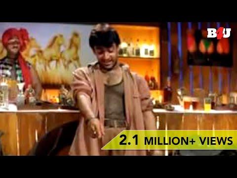 Aamir Khan & Johnny Lever DRUNK FUNNY Scene   Mela   Full HD