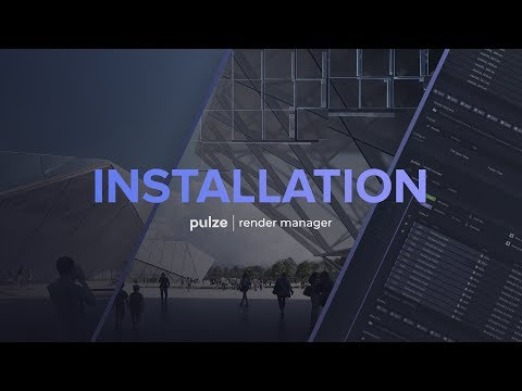 Pulze | Render Manager Tutorial [Chapter I - Install] thumbnail