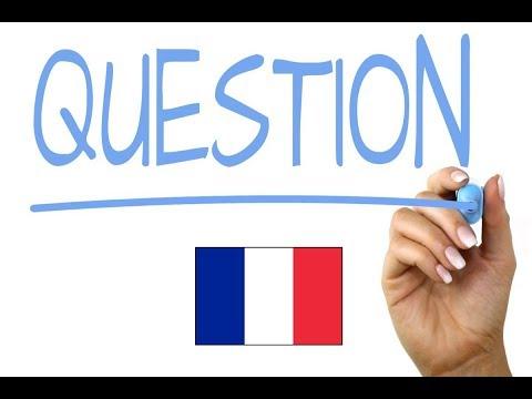 Francuski | Jak zadać pytanie ? wideo