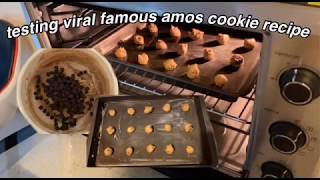testing viral famous amos recipe!
