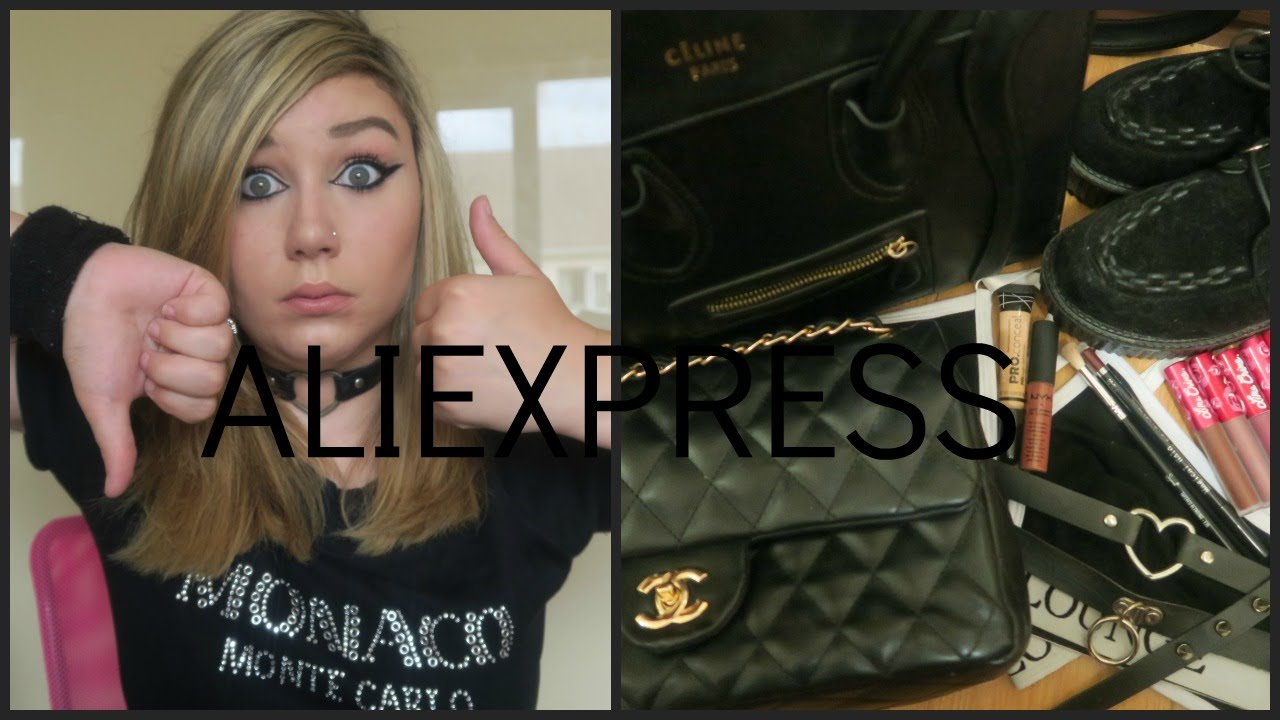 51e0fe6fec77 Aliexpress Haul! (Makeup